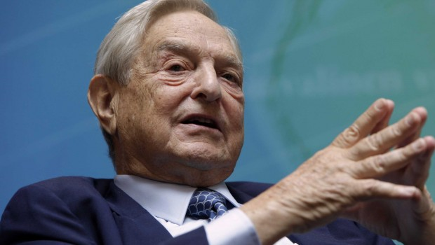George Soros: Donald Trump is 'would-be dictator'