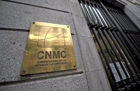 ep placa identificativa en el edificio de la cnmc en madrid espana