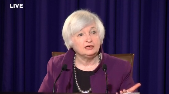 Janet Yellen, Reserva Federal