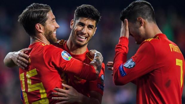 ep futboleurocopa- grupo f espana liderasueciamalta que vuelveganar