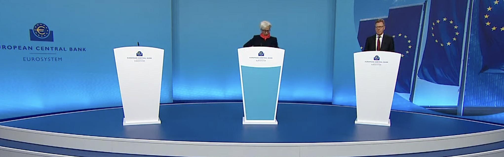 El BCE comienza a revisar su estrategia en medio del previsible optimismo de Lagarde