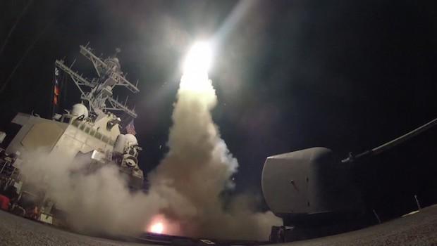 us navy missile syria