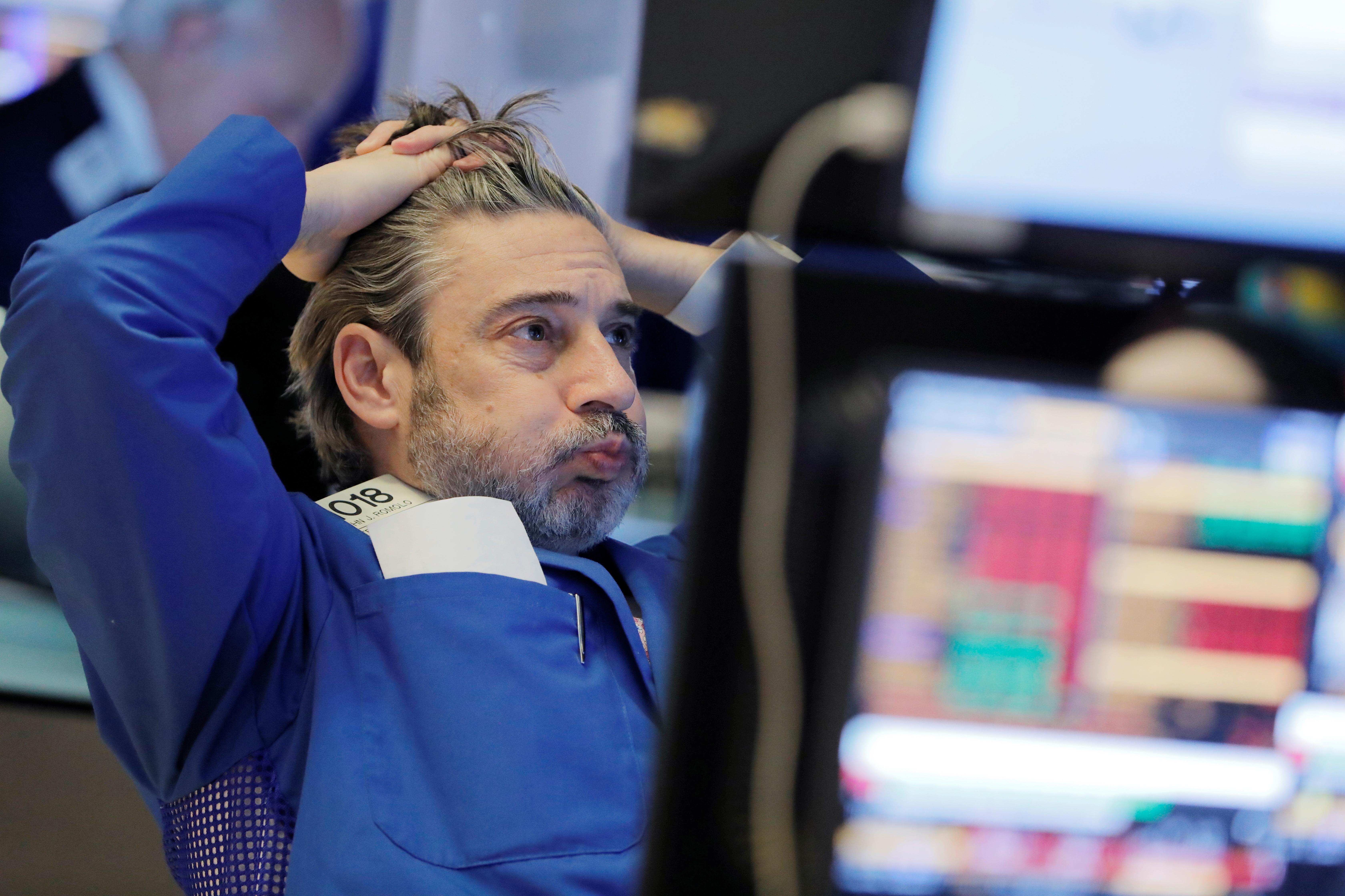 trader a la bourse de new york new york stock exchange wall street