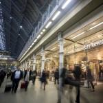 John Lewis at St Pancras International station, London; retail