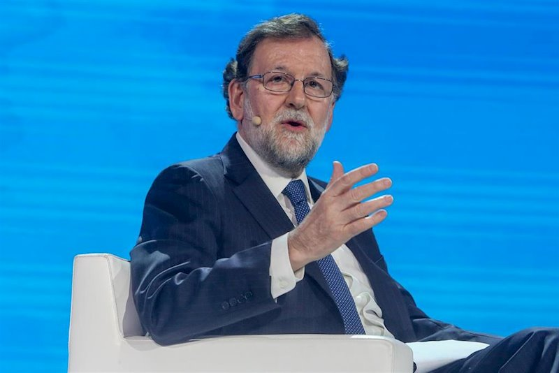 ep lex-president del govern mariano rajoy en la convencio nacional del pp espana en libertad