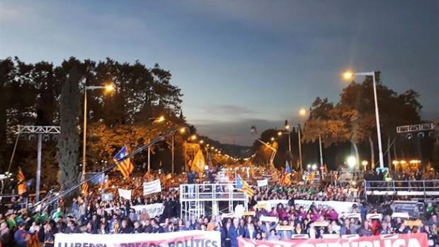 ep manifestacionla liberacionlos independentistas encarcelados