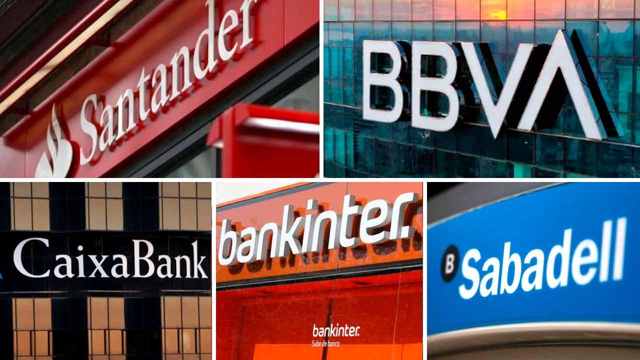 BBVA, Santander, Sabadell, CaixaBank... los bancos del Ibex bajan con fuerza