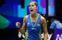 ep la espanola carolina marin celebra un punto en la final del mundial de badminton de 2018