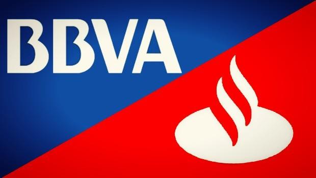 bbva santander logos