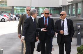 ep archivo - el banquero jaime botin centro acude al juzgado de lo penal numero 27 de madrid donde