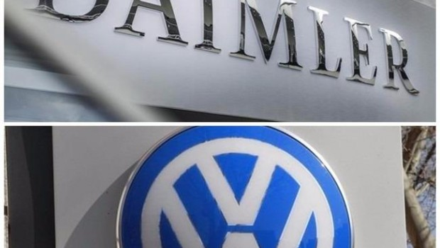 ep collage logotipos daimlervolkswagen