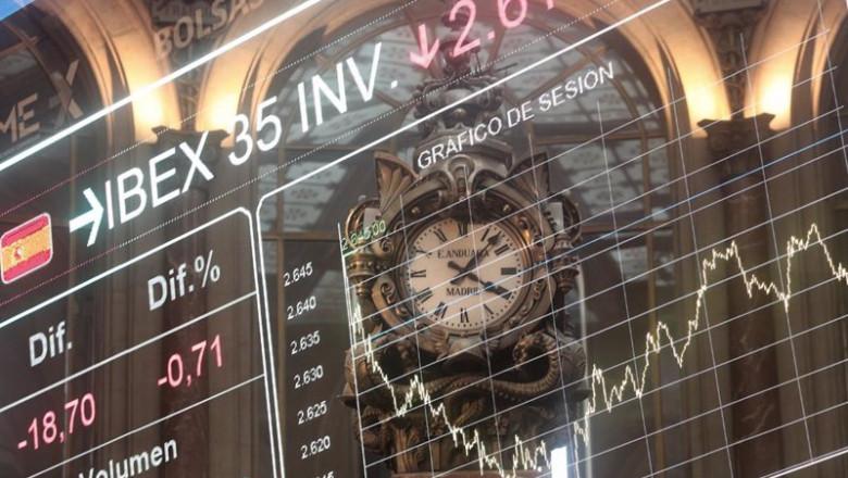 ep valores del ibex 35 en la bolsa de madrid espana a 13 de noviembre de 2020