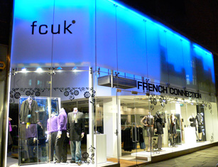 fcuk, french connection, fashion