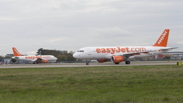 Easyjet, aircraft, Gatwick Airport, transport, travel