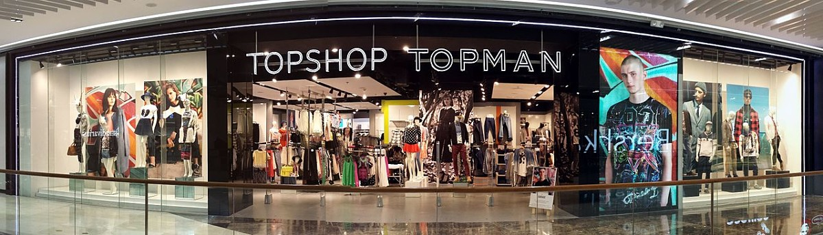 Topshop, topman, fasion, retailer