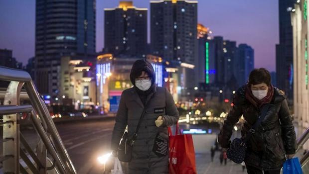 ep mujeres con mascarillas en shanghai