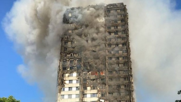 6 killed as massive blaze engulfs London tower block