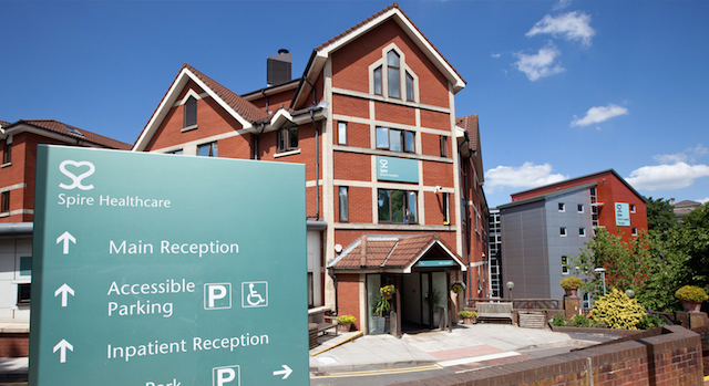 spire healthcare hospital