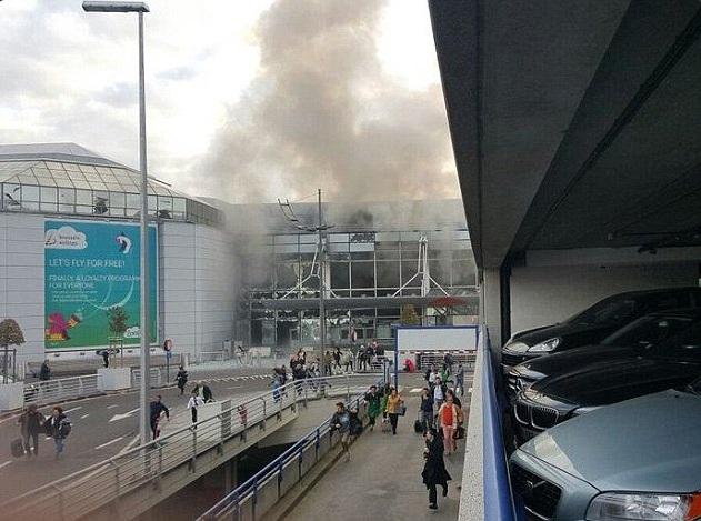 aeropuerto bruselas brussels