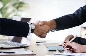 deal contract handshake acquisition