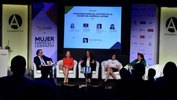 ep destacadas empresarias de iberoamerica resaltan la aportacion del liderazgo femenino al