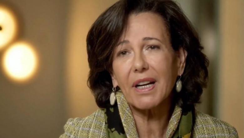 ep la presidenta de banco santander ana botin durante la cumbre empresarial empresas espanolas