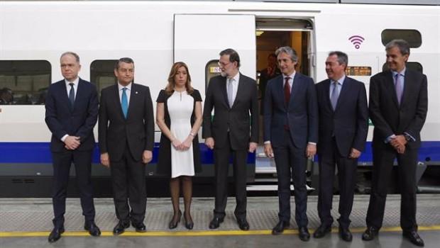 Rajoy se compromete con el AVE: anuncia una inversión de 500 millones para comprar 15 nuevos trenes
