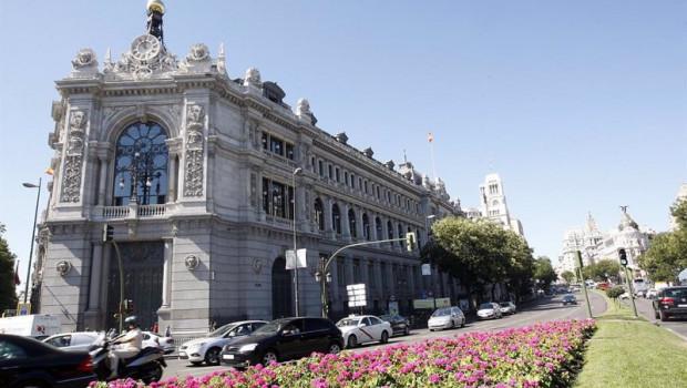 ep archivo - fachada de la sede del banco de espana en madrid