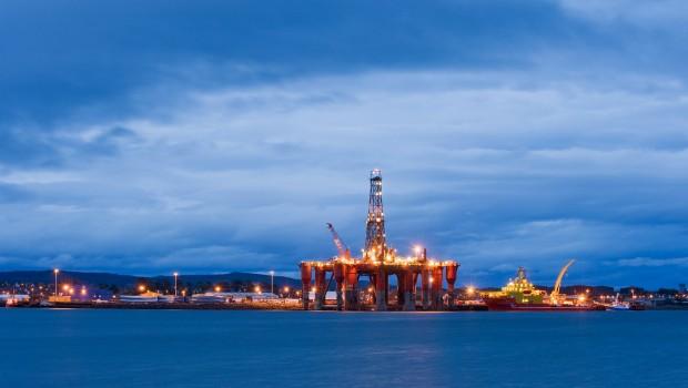 oil rig, scotland