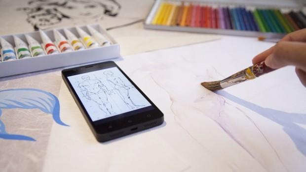 smartphone tecnologia movil arte