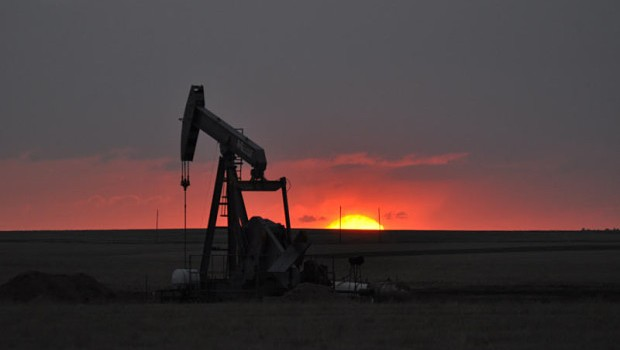 Nighthawk Energy nodding donkey, oil & gas