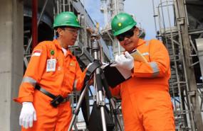 ep trabajadores de la compania petrolera bp
