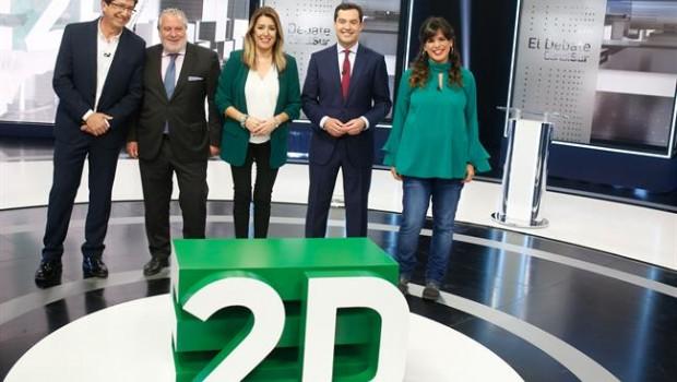 ep en sevilla debatecanal sur televisionlos candidatosla presidencia
