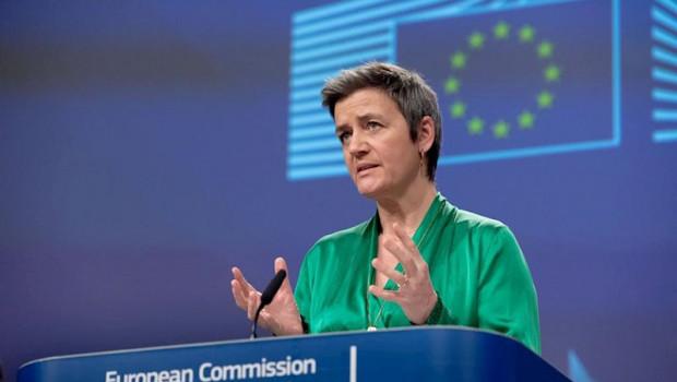 ep la vicepresidenta ejecutiva y responsable de politica de competencia margrethe vestager