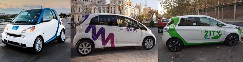 Guerra del 'carsharing' en Madrid: Car2go, Emov, Zity, WiBLE... ¿hay mercado para todos?