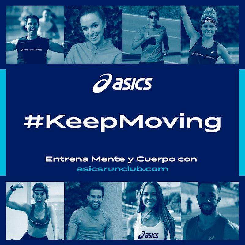 Asics, mente sana, cuerpo sano. — Grupo Roberto La Mejor