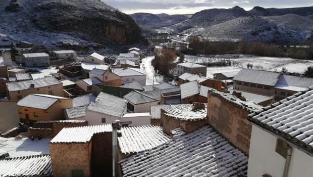 ep la nievellegadovierneslos municipios aragoneses como tierga