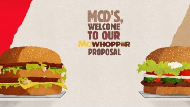 mcwhopper, burger king, mcdonalds