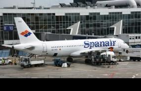 spanair, avion