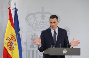 ep el presidente del gobierno pedro sanchez interviene en una rueda de prensa tras la reunion del