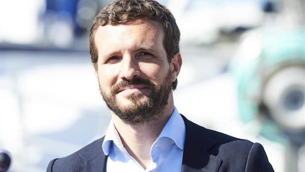 """10N.- Casado dice que es """"inaceptable"""" la agenda de desbloqueo de Sánchez: """"Los pirómanos no apaga"""