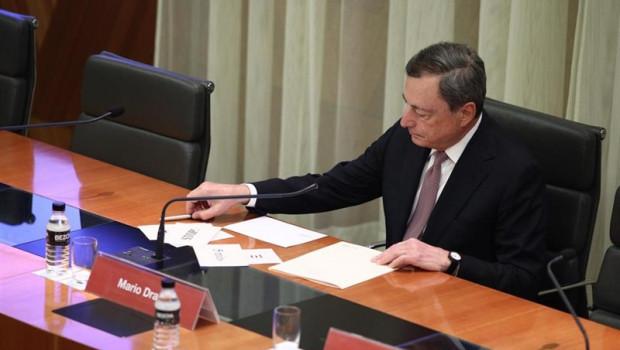 ep el president del banc central europeu bce mario draghi participa a la i conferncia destabilitat