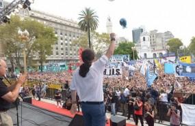 ep pablo iglesias participaun actobuenos aires argentina