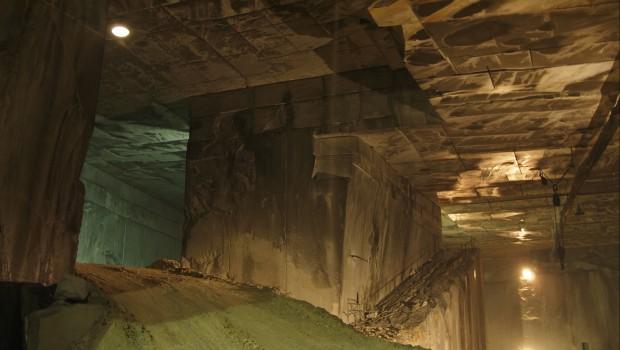 Marble mine, mining