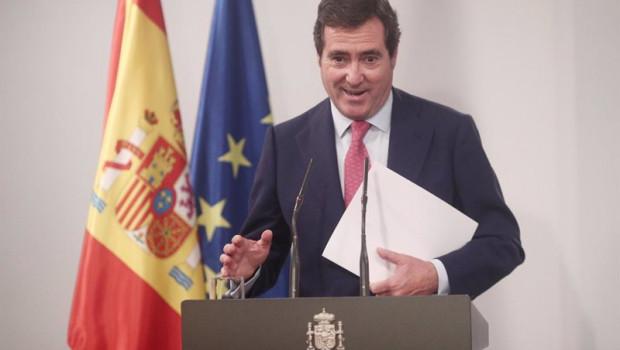 ep archivo   el presidente de la patronal ceoe antoni garamendi comparece en rueda de prensa tras la