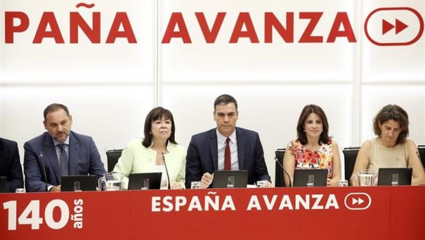 El PSOE aplaza la reunión de su Ejecutiva a mañana, antes de la votación de investidura decisiva