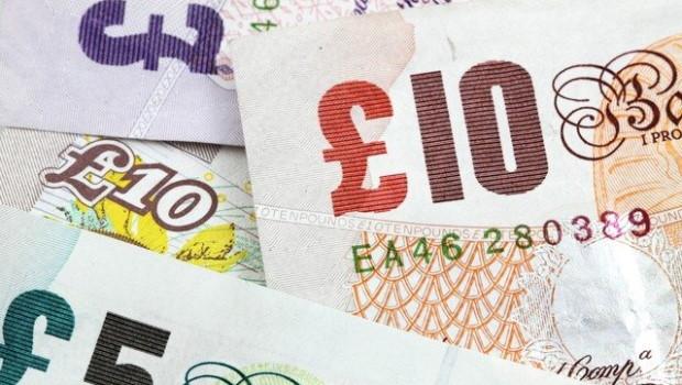 dl finance pounds sterling money finance banknote