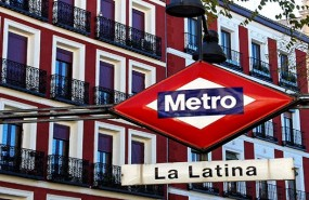 La Latina Metro Madrid